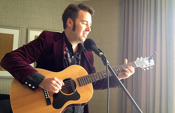 Will Gillespie - Folk Roots Radio at FMO