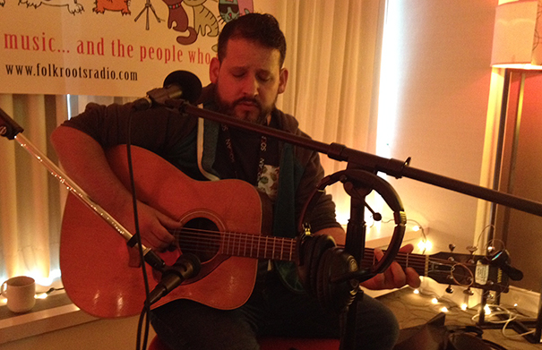 Shawn William Clarke - Folk Roots Radio at FMO