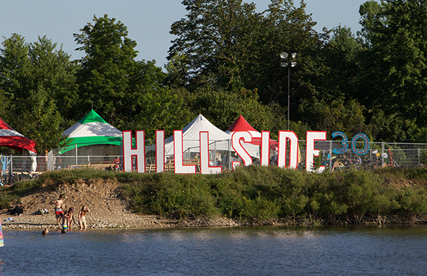 Hillside Festival - Folk Roots Radio Interview