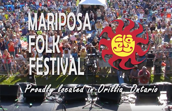 Mariposa Folk Festival - Folk Roots Radio Interview