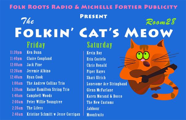 The Folkin' Cat's Meow 2017
