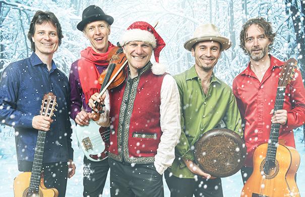 Sultans of String Christmas Caravan - Folk Roots Radio Interview
