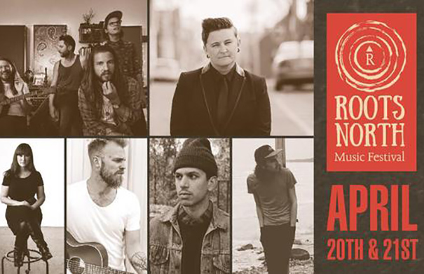 Roots North Music Festival 2018 - Folk Roots Radio Interview