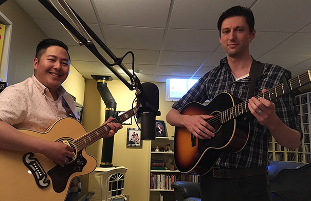 Evan & John - Folk Roots Radio Interview
