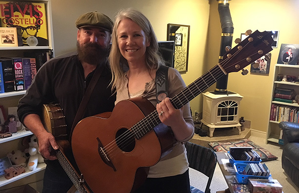 Over The Moon - In The Folk Roots Radio Studio