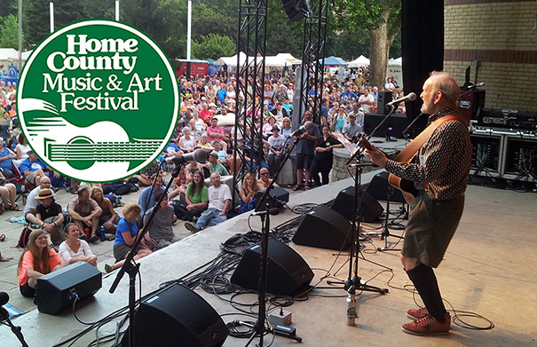 Home County Folk Festival 2018 - Folk Roots Radio Interview
