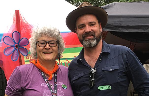 Martin Harley - Folk Roots Radio at Hillside 2018