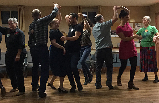 Drumlin Contra Dance - Folk Roots Radio Interview