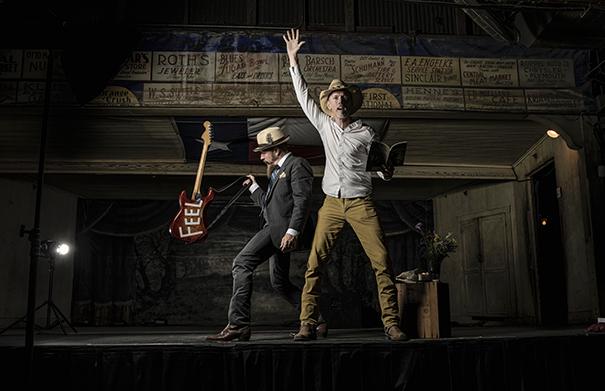 Jonathan Byrd Pickup Cowboy - Folk Roots Radio Interview