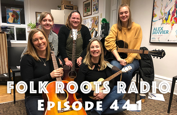 Folk Roots Radio Episode 441: Hillside Festival Girls & Guitars Songwriting Course 2019